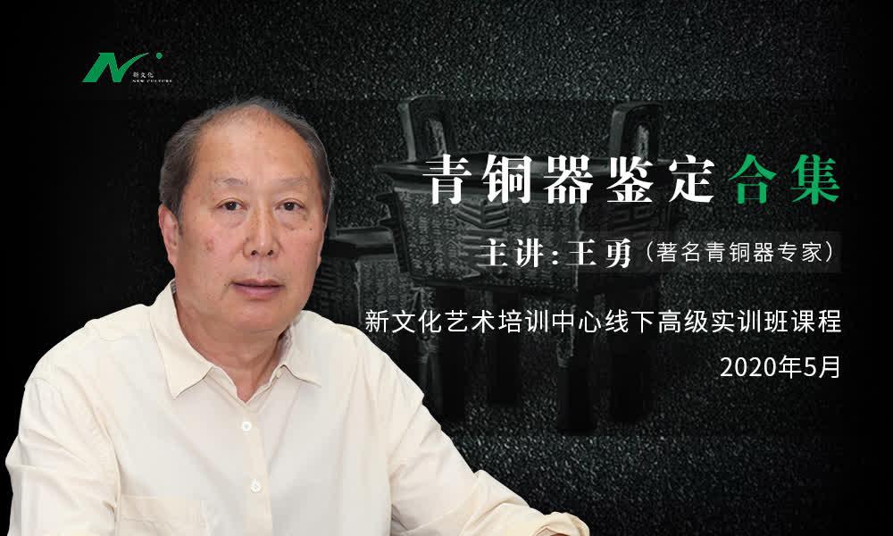 王勇:中国古代青铜器鉴赏课程「线下」